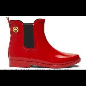 Micheal Kors Short Rubber Rain Boots